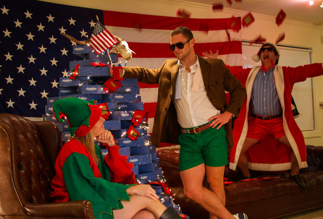 Chubbies Christmas Shorts