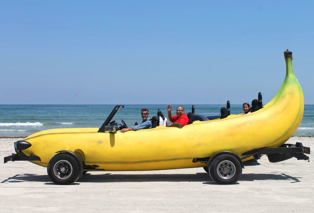 Big Banana Car