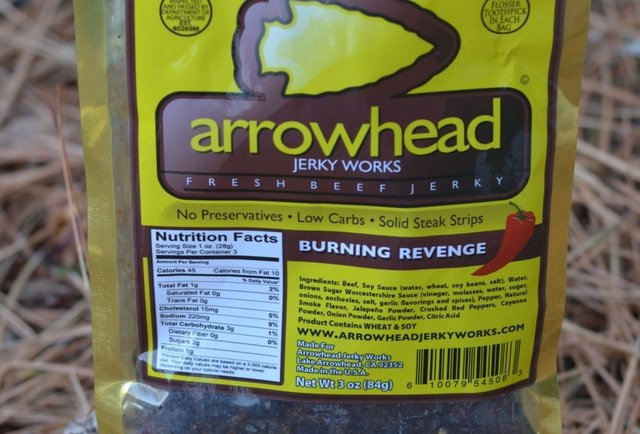 Arrowhead Jerky Works' Burning Revenge
