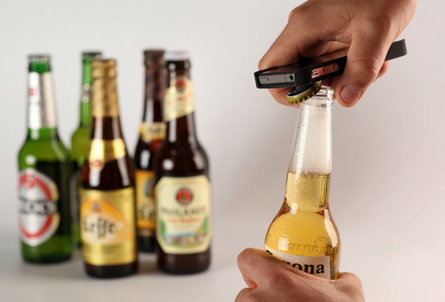 Need a bottle opener? There's an iPhone case for that