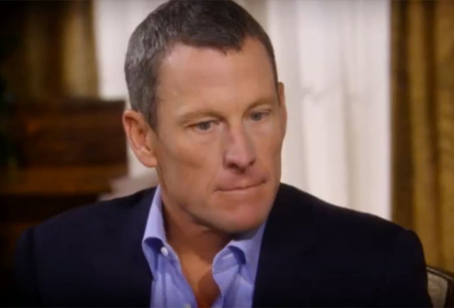 Welcome to the party, Lance Armstrong