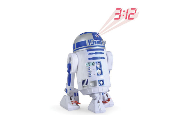 R2D2 LED Alarm Clock