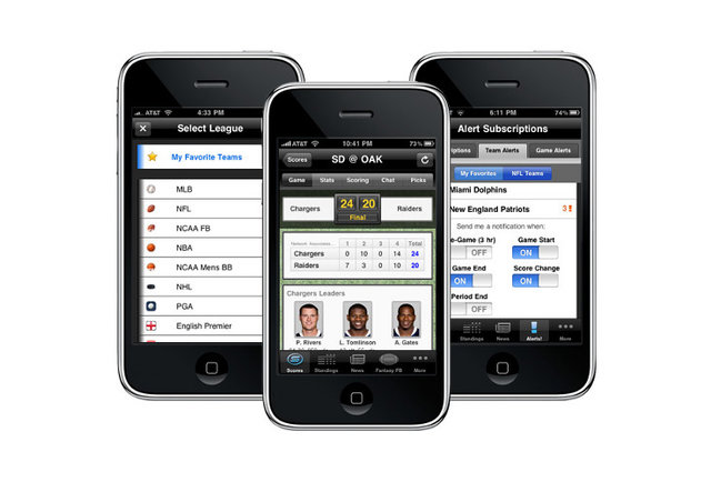 A sports app that covers just about everything