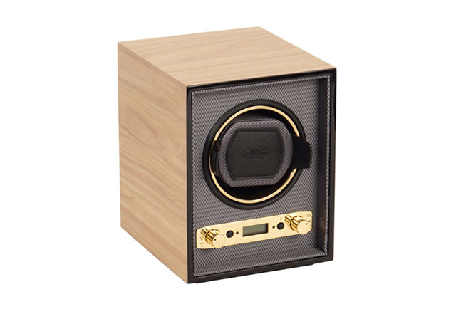 Wolf Designs Blonde Meridian Watch Winder