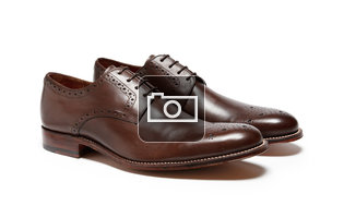 Grenson Tyler Brown Leather Shoes