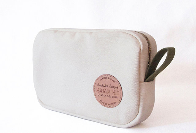 A nostalgic dopp kit from Buckshot Sonny's and Winter Session