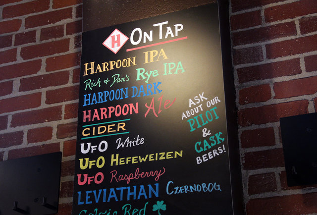 Harpoon's Beer Hall
