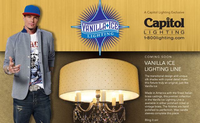 Vanilla Ice Lighting Line