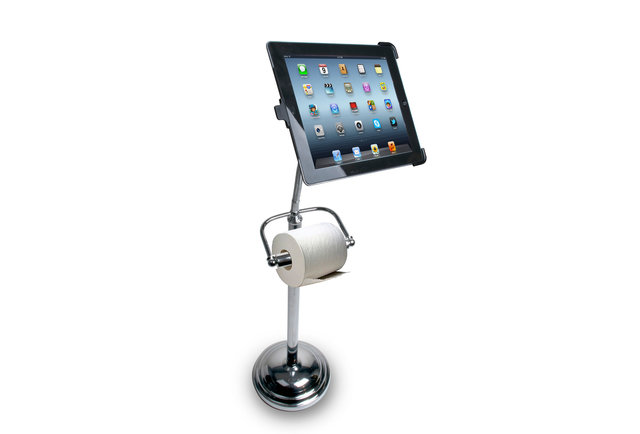 Bathroom iPad Pedestal