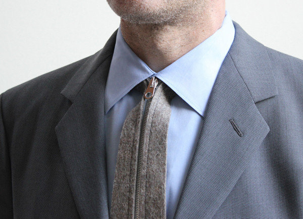 Zip-Up Tie