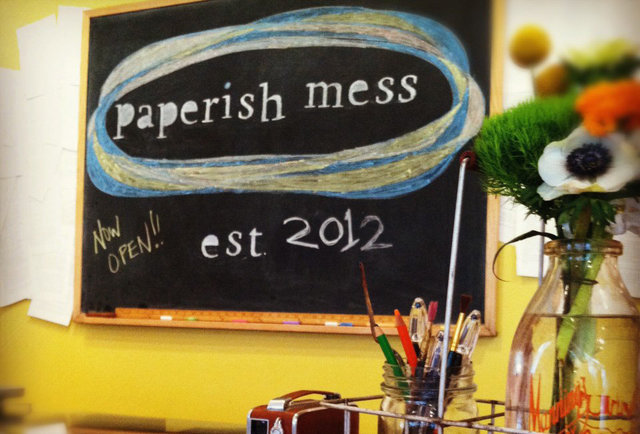 Art and Beer at Paperish Mess