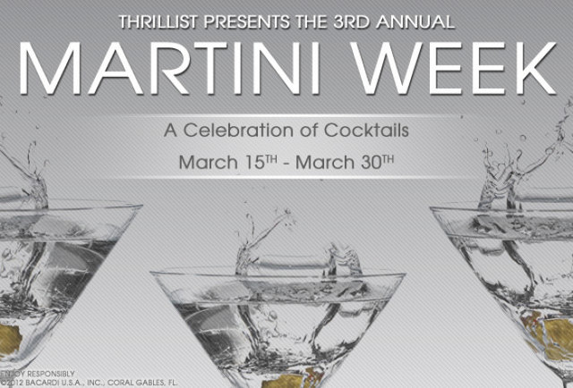 You're Invited: Thrillist's Third Annual Martini Week