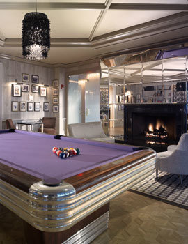 The Chelsea hotel's swimming pool nightclub