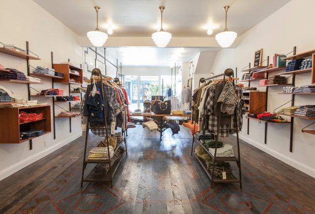 Gant Rugger-Store Interior-San Francisco