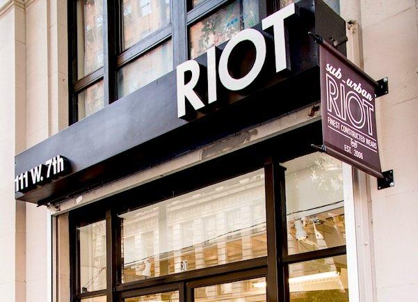 Exterior of Suburban Riot