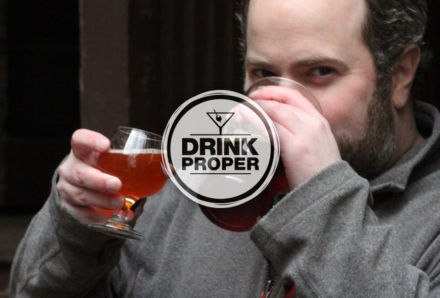 Thrillist Senior Editor Matt Lynch drinks two beers in Chicago
