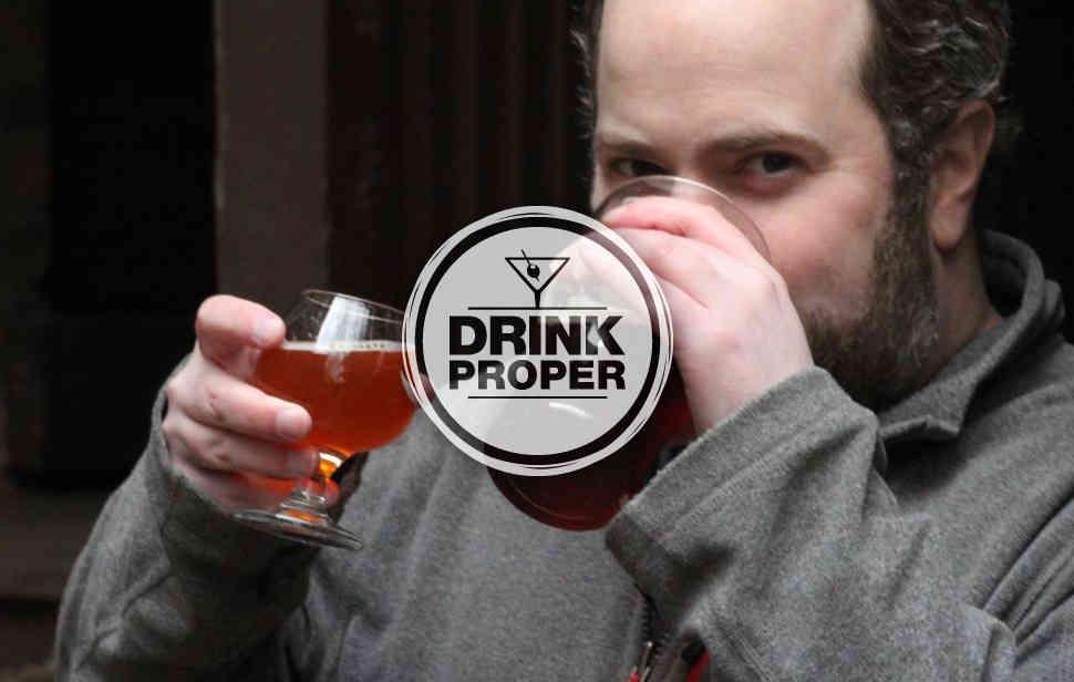 Thrillist Senior Editor Matt Lynch drinks two beers in Chicago