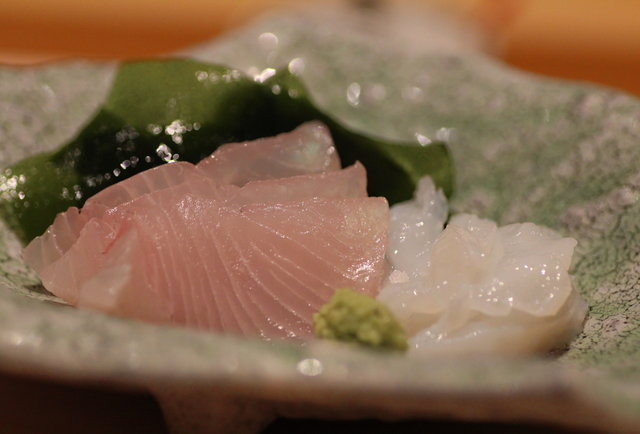 sashimi at Nozawa Bar, Beverly Hills
