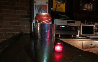 That's Brilliant: Tecate Tall Boy in a Cocktail Tumbler
