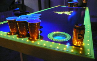 The Most Amazing Beer Pong Tables in the World