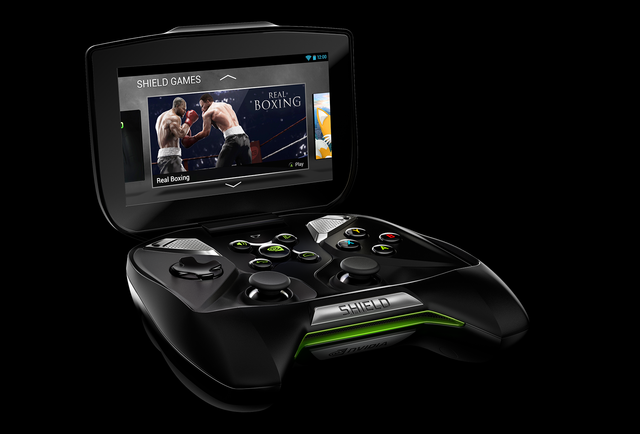 SHIELD boxing game-NVIDIA SHIELD