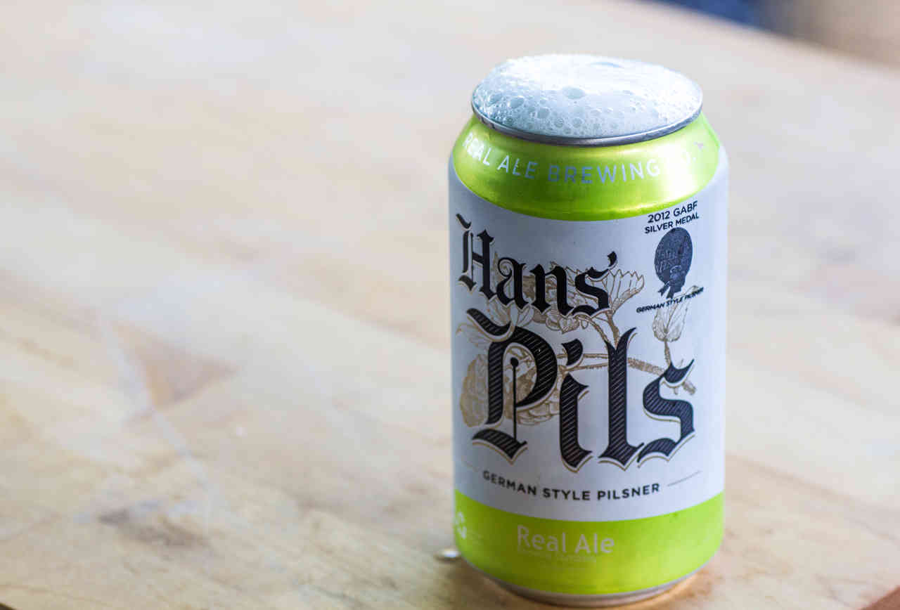 Real Ale Brewing's Hans' Pils