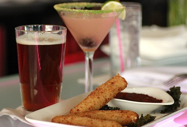 Cheese sticks at Trio Club