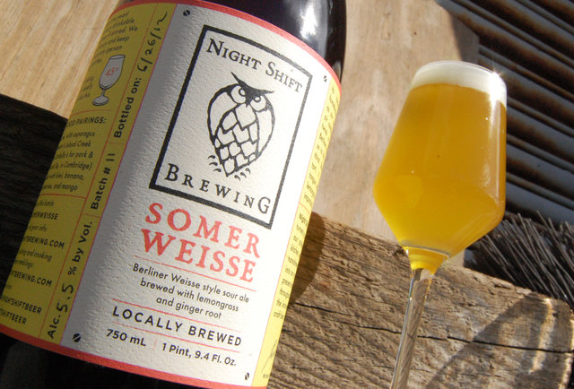 Night Shift Brewing's Somer Weisse-Summer Beers: The 150 You Need to Drink Before September