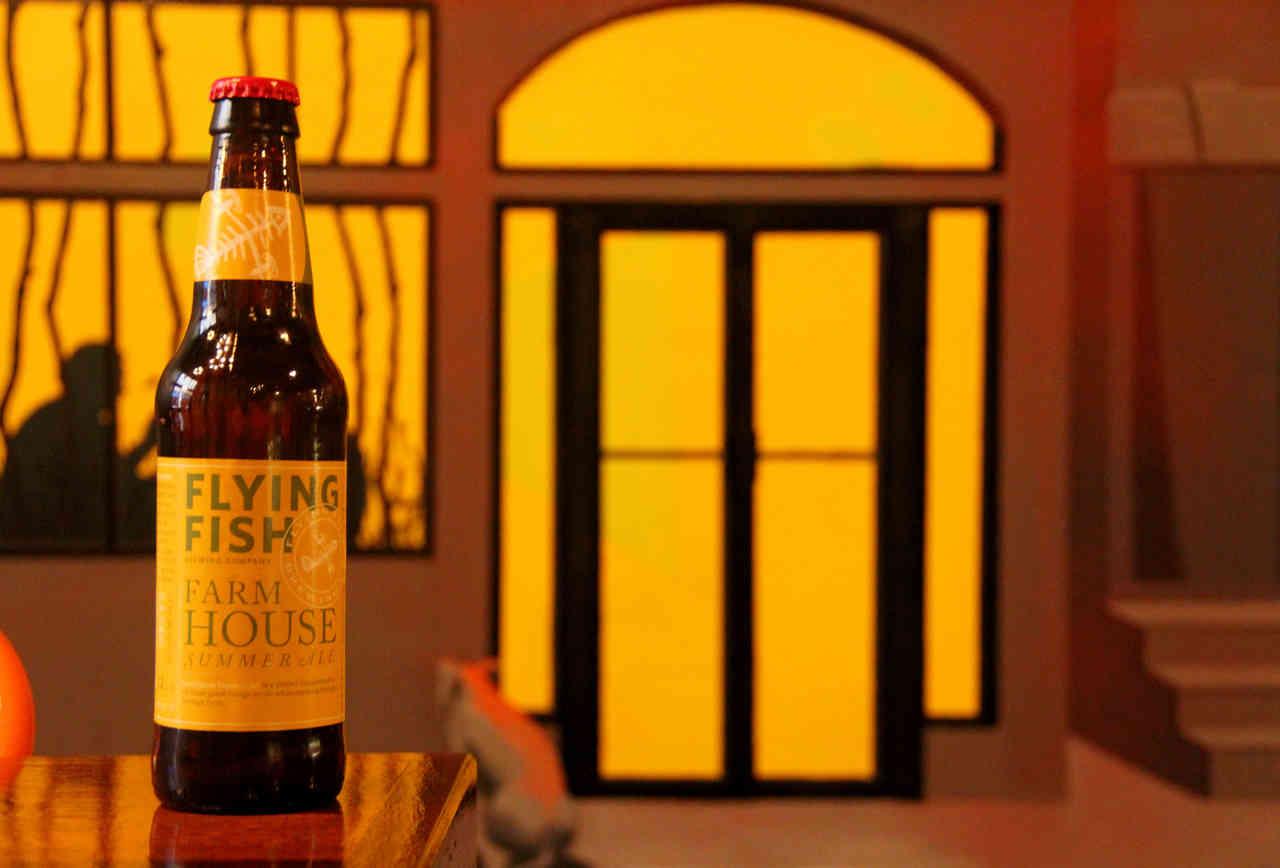 Flying Fish Farmhouse Summer Ale