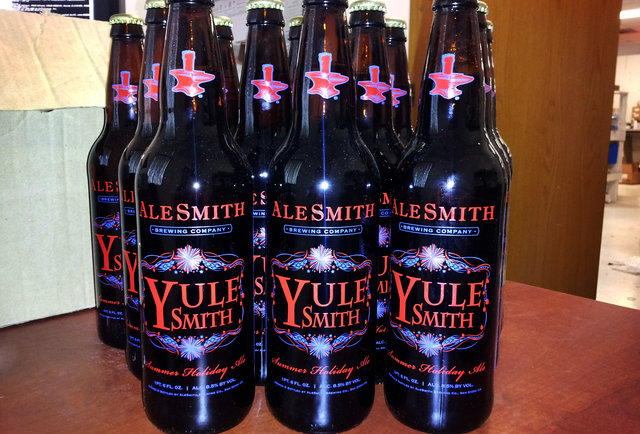 AleSmith Summer YuleSmith