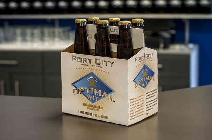 Port City Brewing Company's Optimal Wit