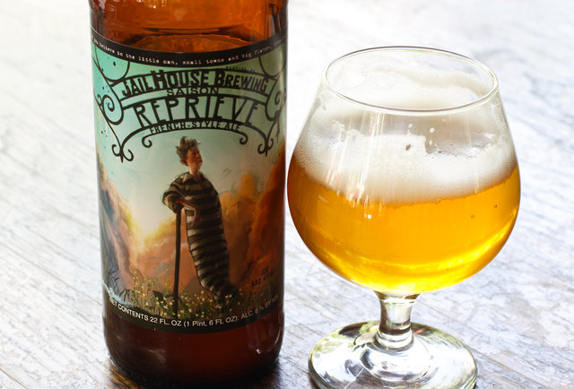 Jailhouse Brewing Co.'s Reprieve French-Style Ale-Summer Beers: The 150 You Need to Drink Before September