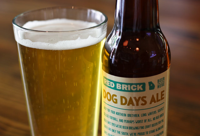 Red Brick Brewing Co's Dog Days Ale