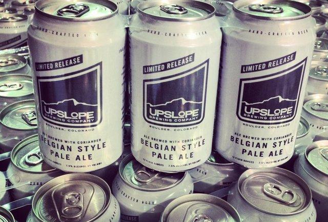 Upslope Belgian Style Pale Ale (Belgian Pale Ale, 7.5%)