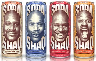 The Big Aristotle is making his own Shaq-sized cream sodas, and they're under a buck