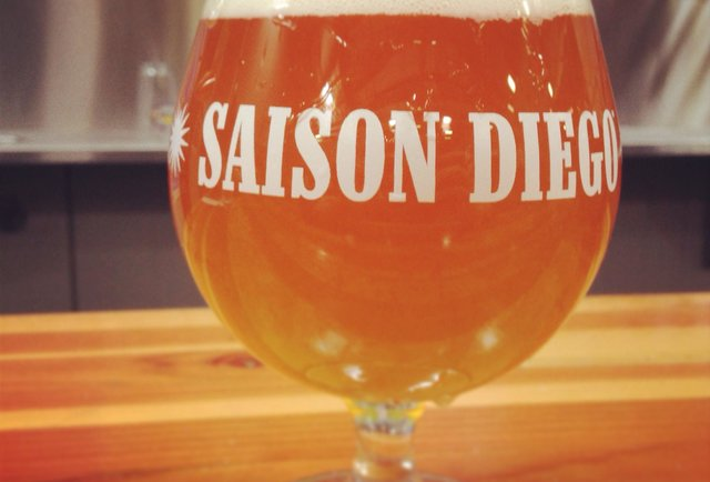 Saison Diego at Green Flash Brewing Company