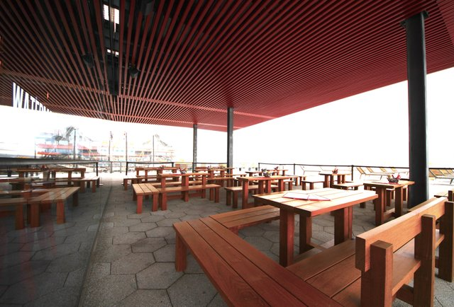 watermark bar lounge summer destination for outdoor drinking and