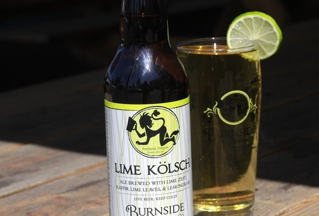 Burnside Brewing Lime Kolsch-Summer Beers: The 150 You Need to Drink Before September