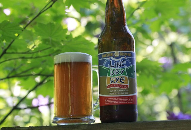 Oakshire Line Dry Rye-Summer Beers: The 150 You Need to Drink Before September