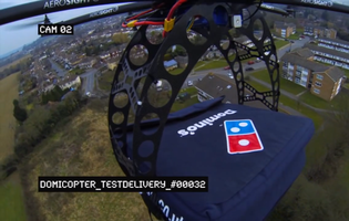 Domino's DomiCopter will chopper pizzas straight to your face