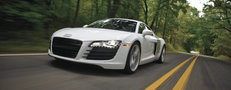 Go balls-to-the-wall with Audi's line of supercars... in wine country