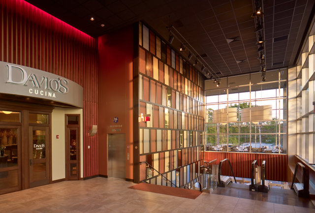 Front of Davio's Cucina at the Chestnut Hill Showcase SuperLux-This movie theater just became your new go-to bar