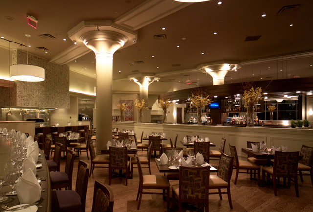 Inside Davio's Cucina at the Chestnut Hill Showcase SuperLux-This movie theater just became your new go-to bar