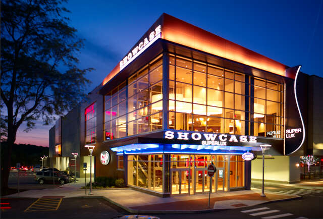 Exterior of Chestnut Hill Showcase SuperLux-This movie theater just became your new go-to bar