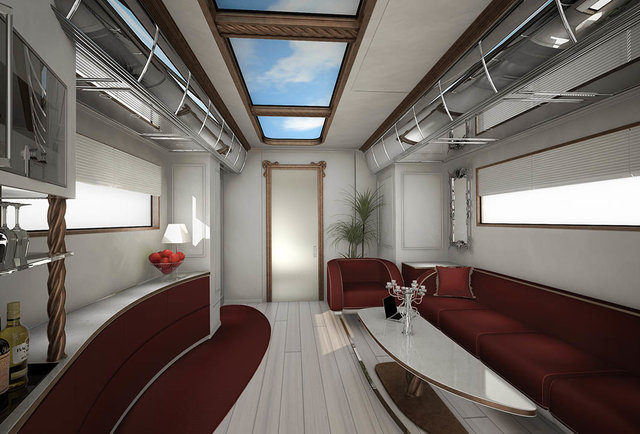 Luxury rv the world 39 s most expensive rv thrillist for Most expensive motor homes