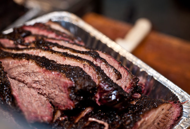 Cuts of beef brisket