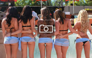 Your handy guide to all of Vegas's topless pools