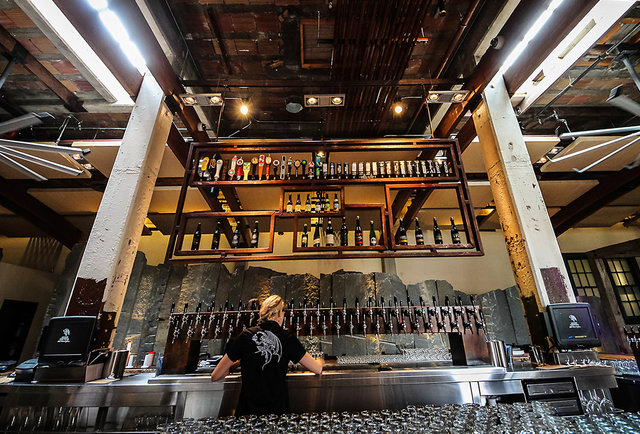 Stone Brewing World Bistro Gardens Liberty Station 55 000sqft Of Beer Amazingness From The