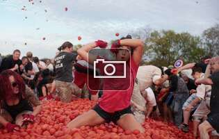 Get ready to honor Spain by hurling tomatoes at strangers while drinking