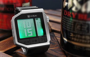 This timepiece lets you know when you've been overserved